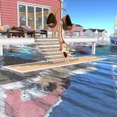 AfterImage Design Diving Deck for Linden Stilts