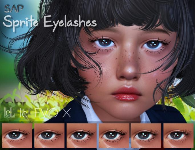 Sap ~ Sprite Eyelashes [Lelutka Evo / Evo X]