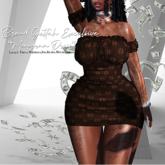$BG Monogram Dress$