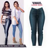 TETRA - Lumine - Capri Jeans (Two-tone #10)