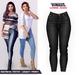 TETRA - Lumine - Capri Jeans (Black)