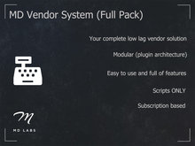 MD Vendor System (Full Pack)