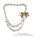 Indyra Originals: Chablis Diamond & Leather Multi-Strand necklace-Gold