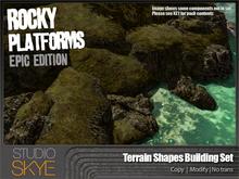 Skye Rocky Platforms Building Set [EPIC] Terrain Shapes