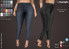 :: SA :: Sara - High Waist Skinny Jeans with HUD