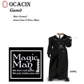 Ocacin Gamit Men's Complete formal Trencecoat set-Box