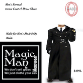 Mado Men's Trencecoat coplete outfit-Box