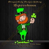 Leprechaun - 2D Alpha Decoration