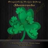 Shamrocks - 2D Alpha Decoration