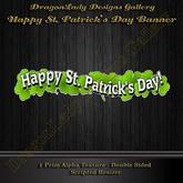 Happy St. Patrick's Day! Banner