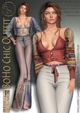 ***ArisArisB&W~BoHo ChiC Outfit~CUSTOM HUD (ADD)