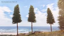 LB Norway Spruce Tree v2 Animated 4 Seasons