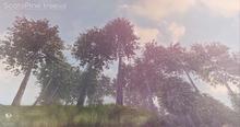 LB Scots pine Tree v2 Animated 4 Seasons