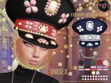 #187# Fashion Officer Cap