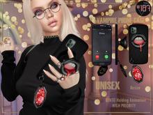 #187# Vampire Phone Case *Holding*