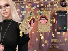 #187# Golden Dollar Phone Case *Holding*