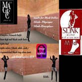 Slink t Physique & Hourglass complete outfits-Box