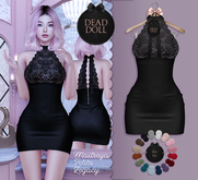 DEAD DOLL - Swango Dress - Black
