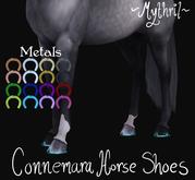 ~Mythril~ Connemara Horse Shoes