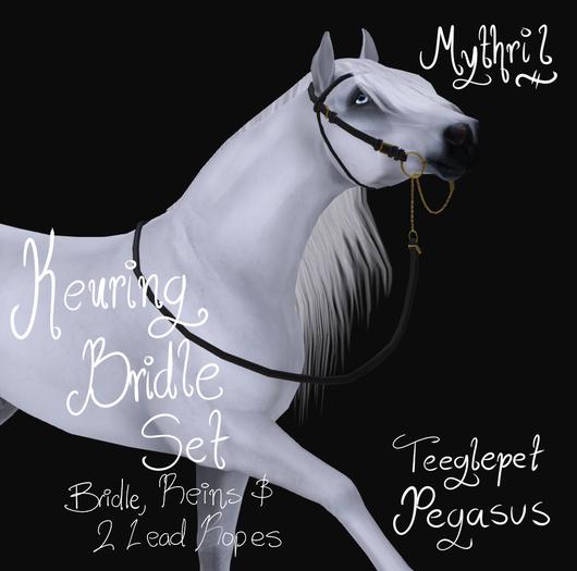 ~Mythril~ Keuring Halter Set (Teeglepet Pegasus)
