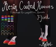 ~Mythril~ Resin Coated Hooves (Fjord)