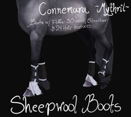 ~Mythril~ Sheepwool Boots: Connemara