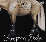 ~Mythril~ Sheepwool Boots: Fjord