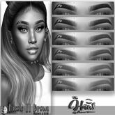 .:the-HAUS:. Nicole II BOM & Applier Eyebrows (Genus) DEMO