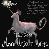~Mythril~ TWI DEER: More Unicorn Animations