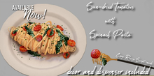 Sundried Tomatos w/Spinach Pasta