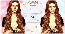 Swan Send me Butterflies Poofer