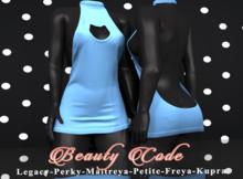 *Beauty Code* - Dress Vicky - Blue Light