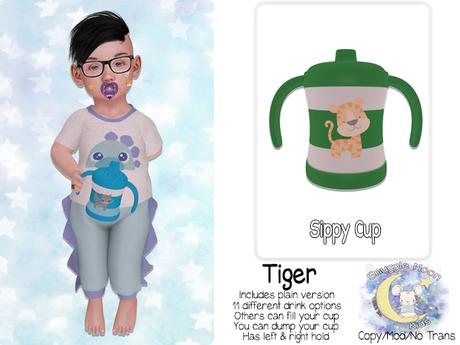 {SMK} Sippy Cup   Tiger