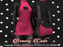 *Beauty Code* - Dress Vicky - Pink
