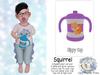 {SMK} Sippy Cup | Squirrel