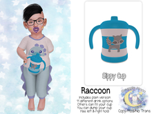 {SMK} Sippy Cup   Raccoon
