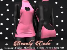 *Beauty Code* - Dress Vicky - Pink Light