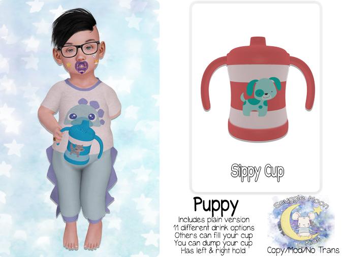 {SMK} Sippy Cup   Puppy