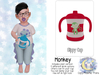 {SMK} Sippy Cup | Monkey