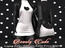 *Beauty Code* - Dress Vicky - White