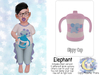 {SMK} Sippy Cup | Elephant