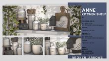BROKEN ARROWS - Anne Kitchen - Shelf - FATPACK