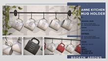 BROKEN ARROWS - Anne Kitchen - Mug Holder - FATPACK