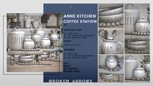 BROKEN ARROWS - Anne Kitchen - Coffee Station - FATPACK