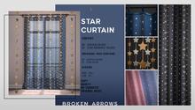 BROKEN ARROWS - Star Curtain & Ornament - FATPACK