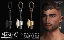 MARKED - Tomahawk Accent Earring (add me)