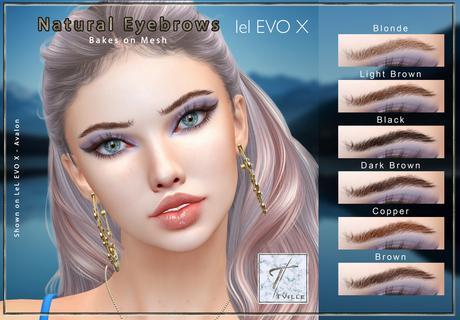 Tville - Natural Eyebrows EVOX  [BoM] *pack*