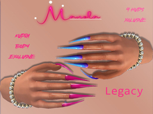 :.M.:Legacy Nails  FATPACK