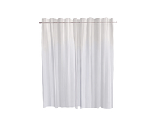 Dutchie sculpted curtains, open and close with a mouseclick