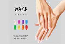 WARD. Jully Nails (Legacy) (UNPACK HUD)